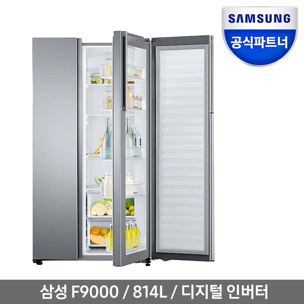 삼성전자 인증점P 삼성 F9000 양문형 냉장고 RH81K80D0SA 전국무료
