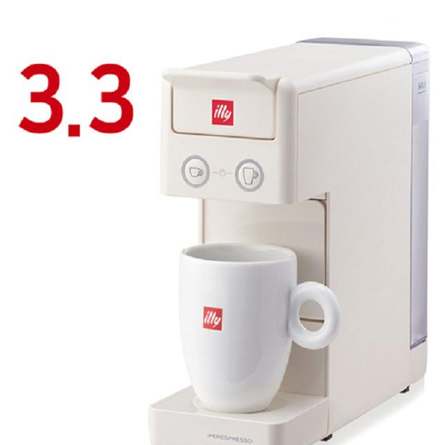 일리 Y3.3 커피머신 시음캡슐 14개 증정 Q 4컬러, 레드