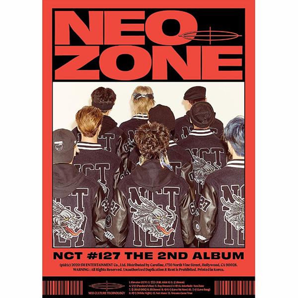 (개봉C버전+접지포스터) 엔시티 127 NCT 정규 2집 Neo Zone 영웅