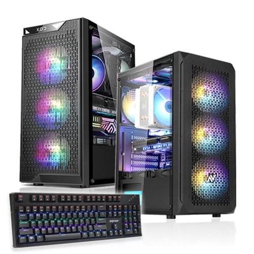 포유컴퓨터 MD추천 게임용에디션 인텔 AMD 조립컴퓨터PC, 에디션PC, 01번 기본사양