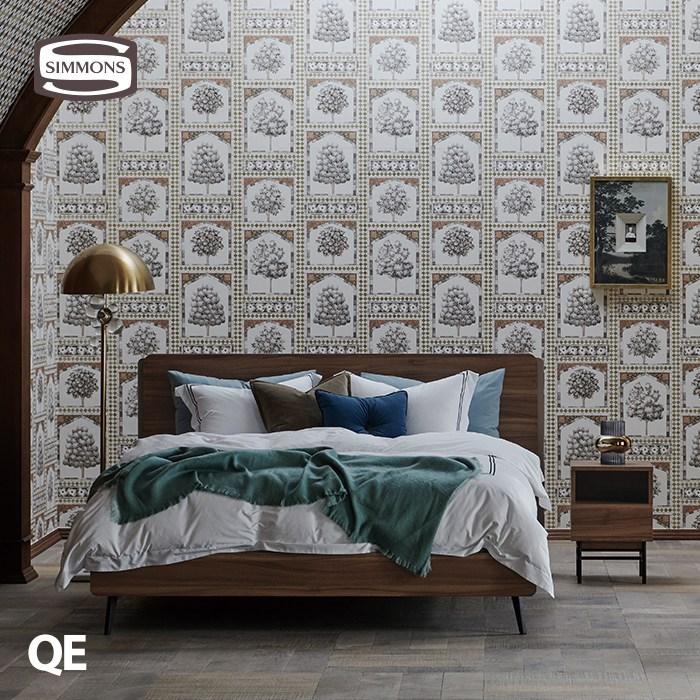 [시몬스] 베크. N32 선데이. 퀸 침대, 노체브라운