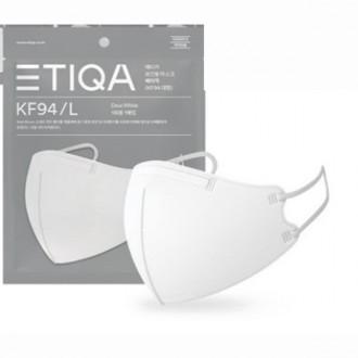(대한도매) 에티카 베이직 마스크 KF94 대형 마스크 5개, 단품