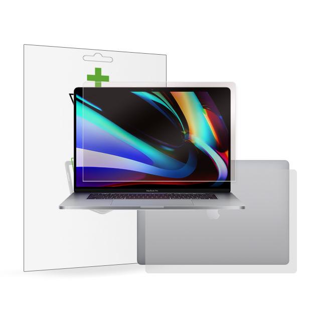 뷰에스피 2020 맥북 프로 16인치 항균 액정+상판 외부 보호필름 각1매, 1개