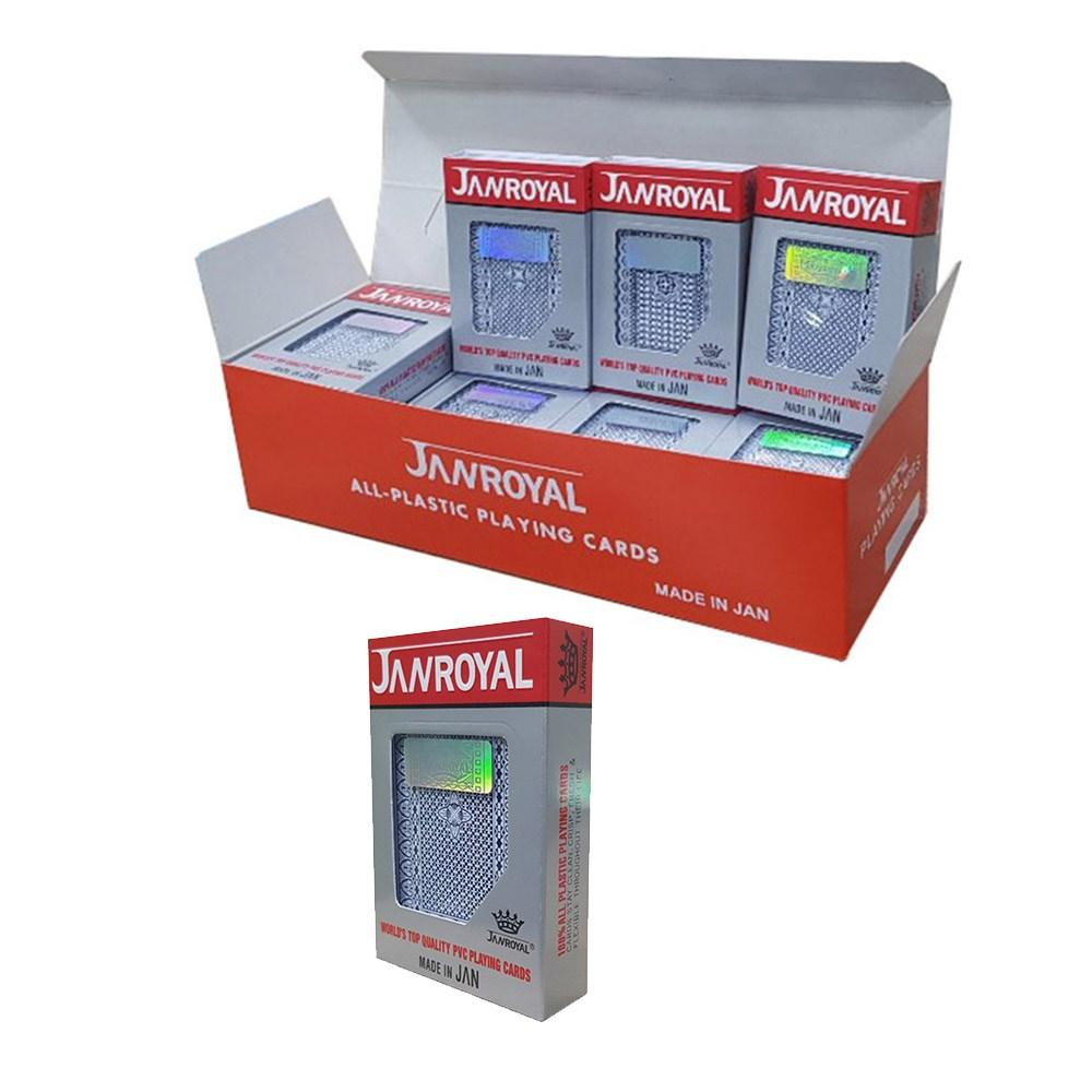 제이엠비 JAN로얄 트럼프카드 1박스(12개) 포커카드 플레잉카드 포커칩