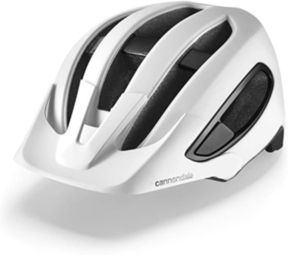 Cannondale Adult Hunter Bicycle Helmet - White/Black-B07RPCH742, White/BlackS/M (52-58cm)