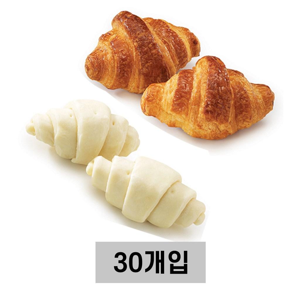 삼립 냉동생지 미니크로와상 (드), 30개입, 18g