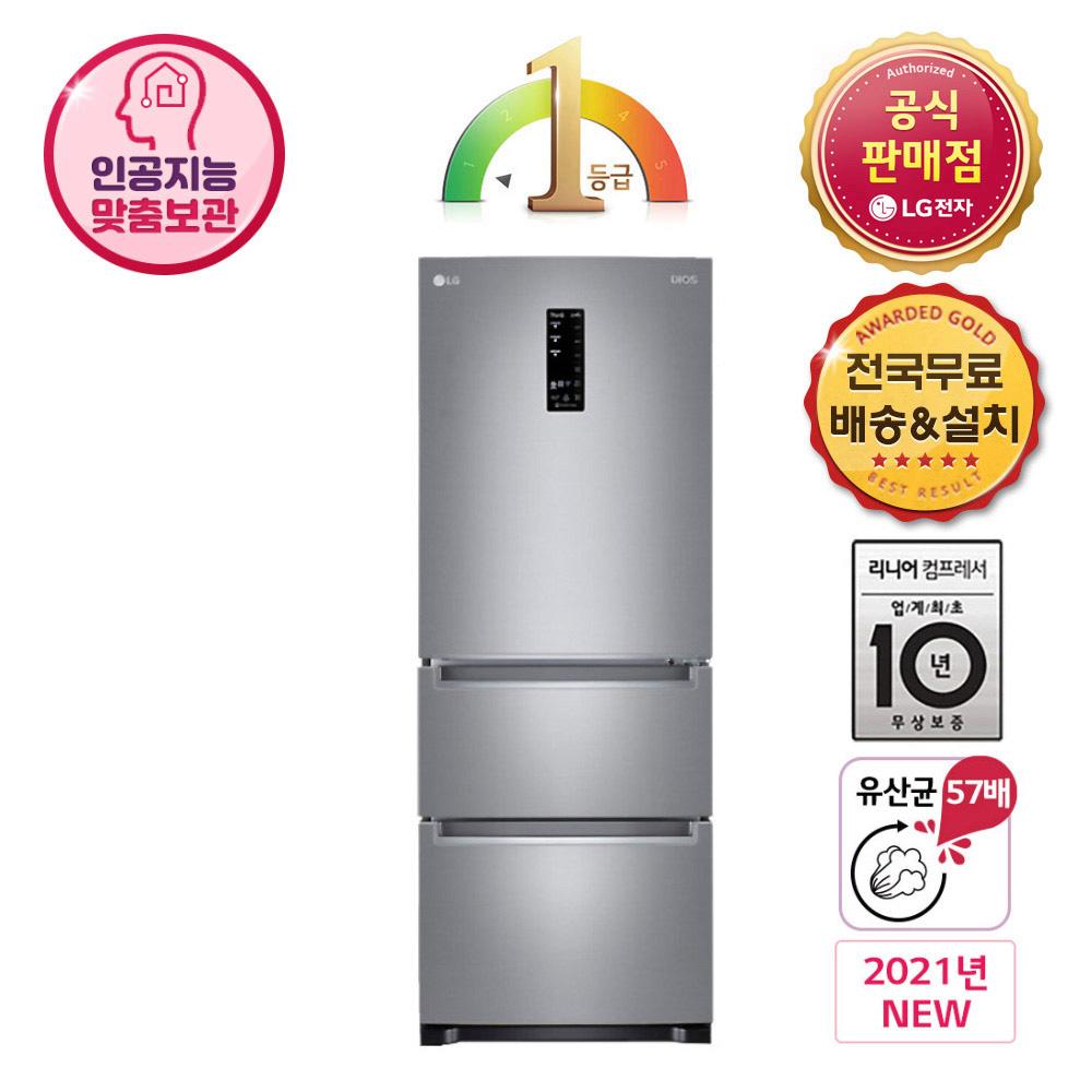 LG전자 K335S14E 김치냉장고 스탠드형 [대명], K335S14E.AKOR