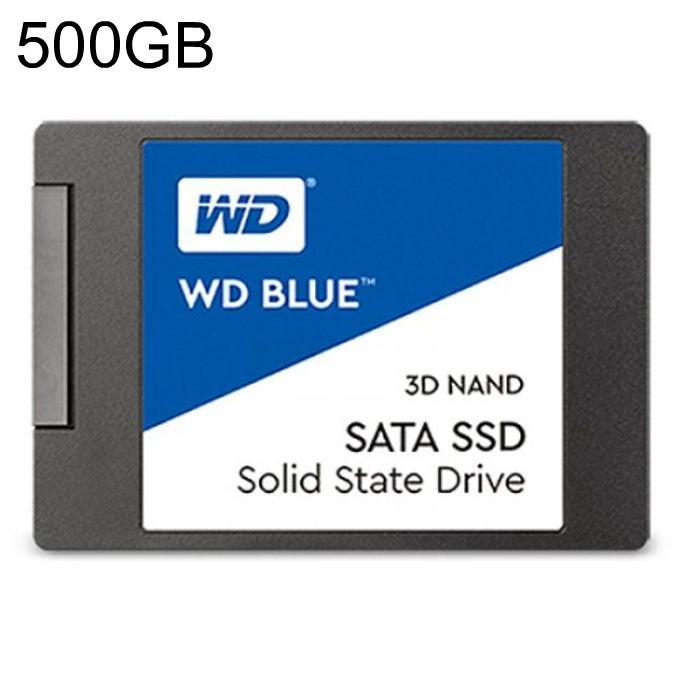 WD Blue SSD 500GB TLC, 1
