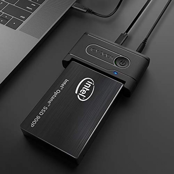ICY DOCK USB 3.2 Gen 2 to U.2 NVMe SSD Thunderbolt 3 Compatible Reader Adapter |