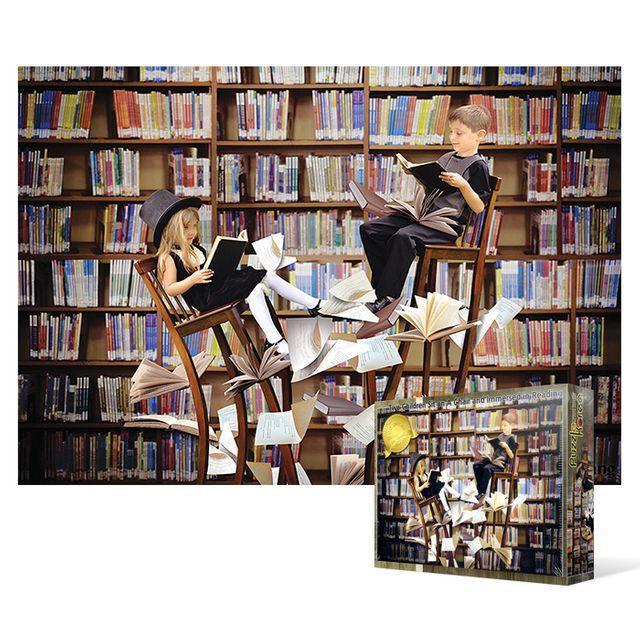 MGX432903500피스 직소퍼즐  도서관 1