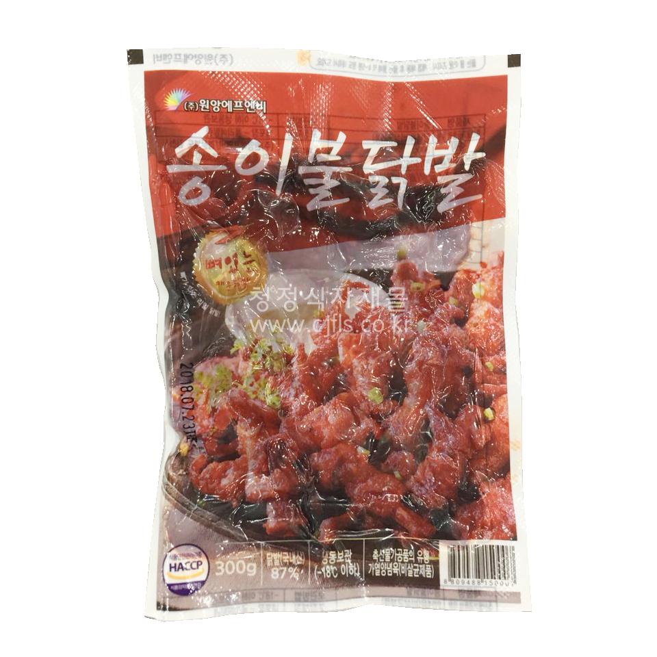 송이불 원앙 닭발280g, 단일상품
