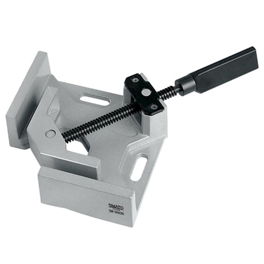 알루미늄앵글클램프 95mm SM-WAC95 앵글클램프 비트세트 전동공구 진공게이지 tklu, 1개