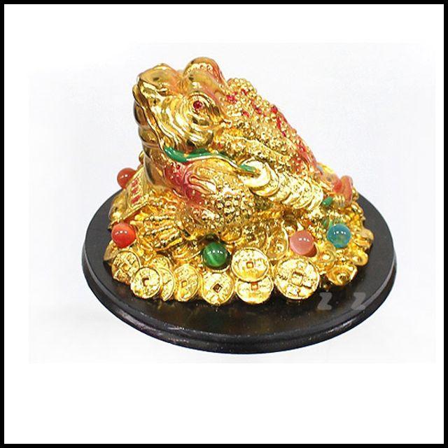 OT 황금 왕두꺼비 장식품 인테리어 데코 신혼집 미니어처 소품 집꾸미기 빈티지 홈데코