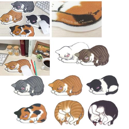 아르테미스 고멘네 고양이 마우스패드, 고멘네 턱시도냥 GN-2059