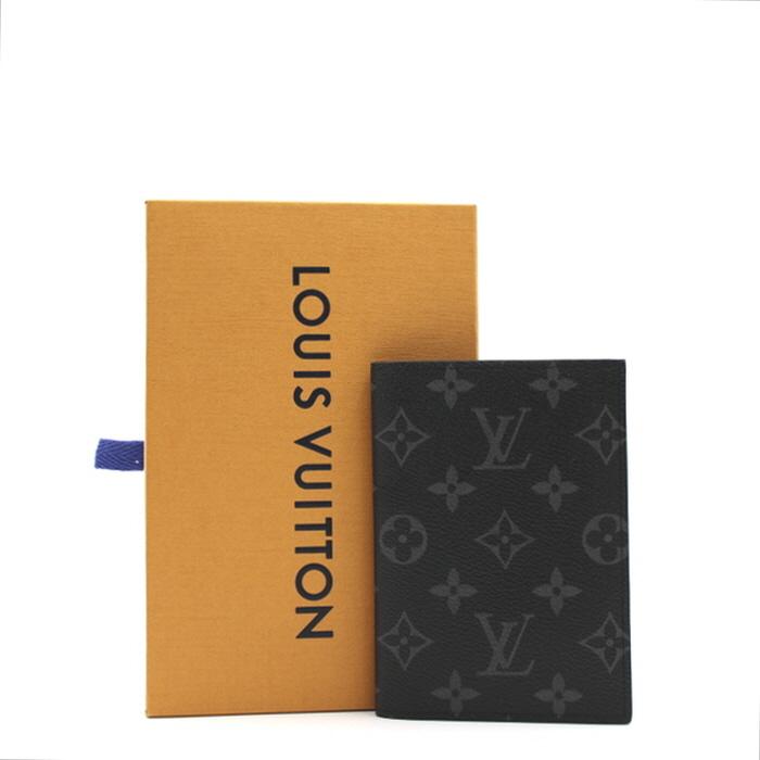 루이비통 M64501 모노그램 이클립스 패스포트 커버 여권지갑aa07898