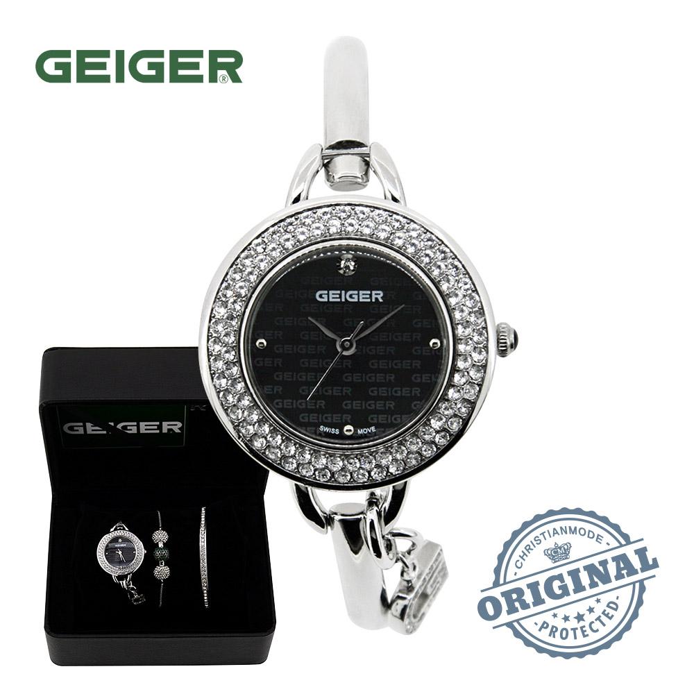 가이거[GEIGER] [본사 정품] 백화점AS 가이거 여성 뱅글팔찌 시계 GE1173WTB (29mm)