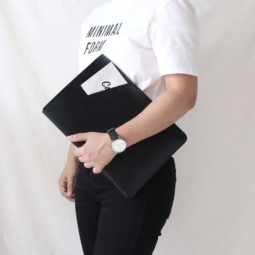 [텐바이텐] 맥북프로 16인치 노트북 파우치 케이스 가방 LC_BLACK, LC_Black_Pro 16inch
