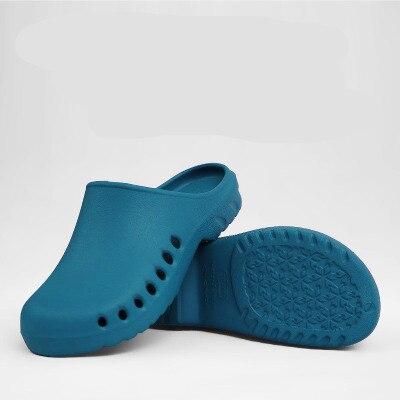 여성 신발 2020 슬립 요리사 신발 방수 신발 레이디 클래식 간호사 신발 병원 여성 작업 의료 Anti-Needling 샌들
