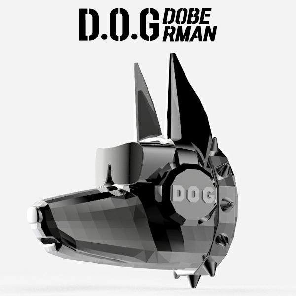 2021년 신형 D-E1 차량용방향제 송풍구 강아지 3종 고급 자동차 디퓨저 DOG, [도베르만] 화이트골드, 일랑일랑