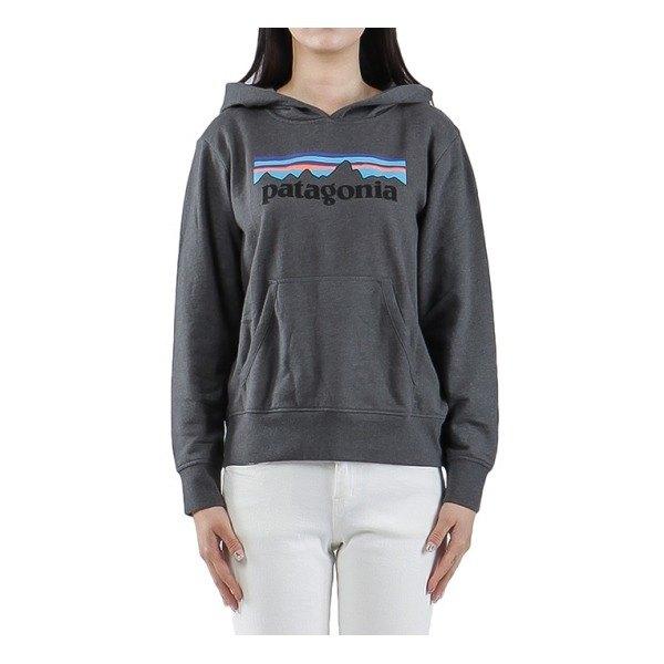 [파타고니아] (63025 PFOG) 키즈 로고 후드 티셔츠 19FW