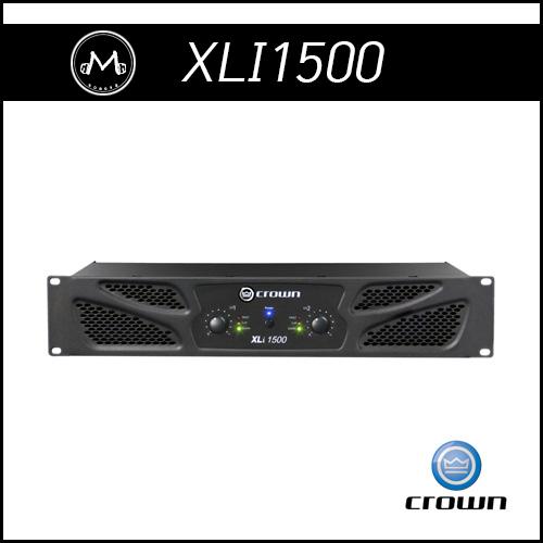[CROWN] XLi 1500 파워앰프 (2채널 2CH 450W 크라운 앰프)