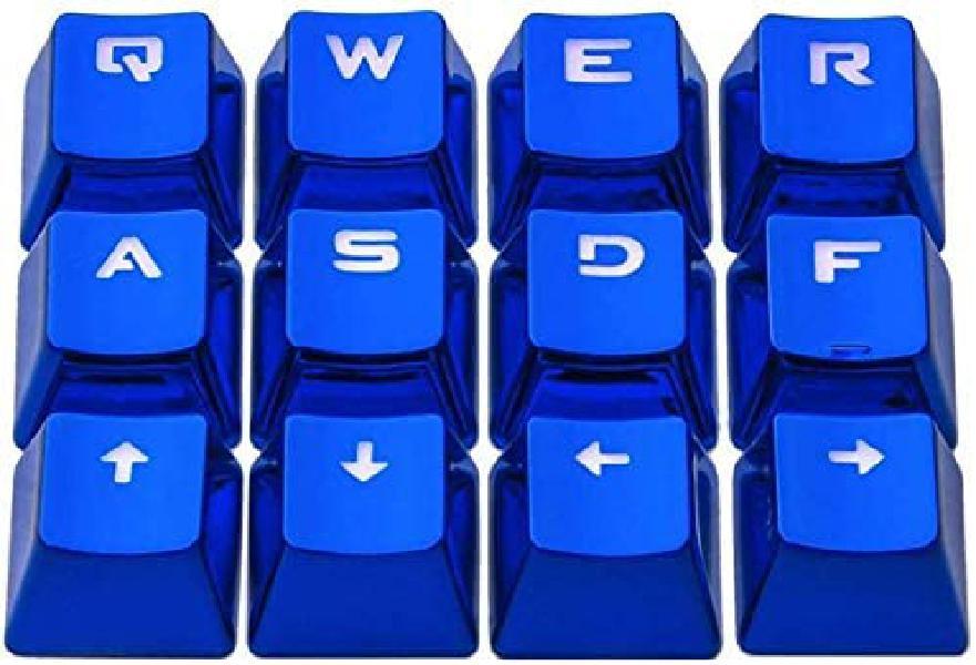 luo 기계식키보드 블루 메탈 키캡 12P 키캡세트, 12P 세트옵션