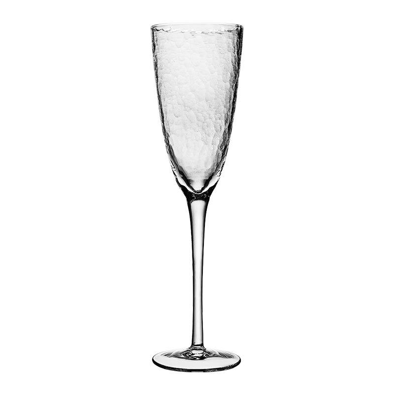 일본 식 망치 무늬 유리잔 빨 간 잔 포도 잔 기포 컵 굽이 높 은 잔 닭 꼬리 잔 샴페인 잔 거품 잔 - 260 mL