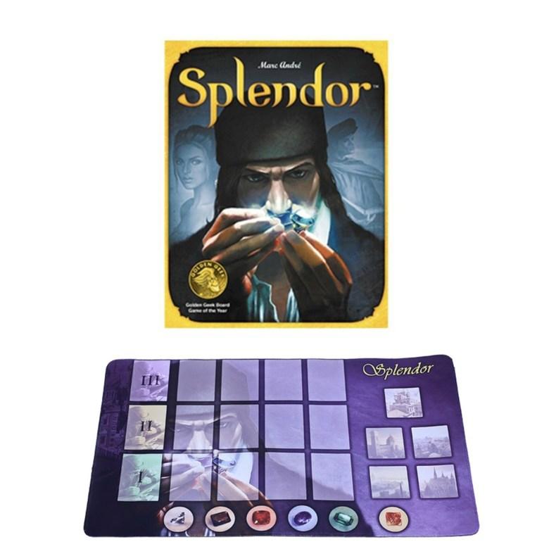 Splender 스플렌더 보드 게임 스플랜더확장판, 기본판 보석패드
