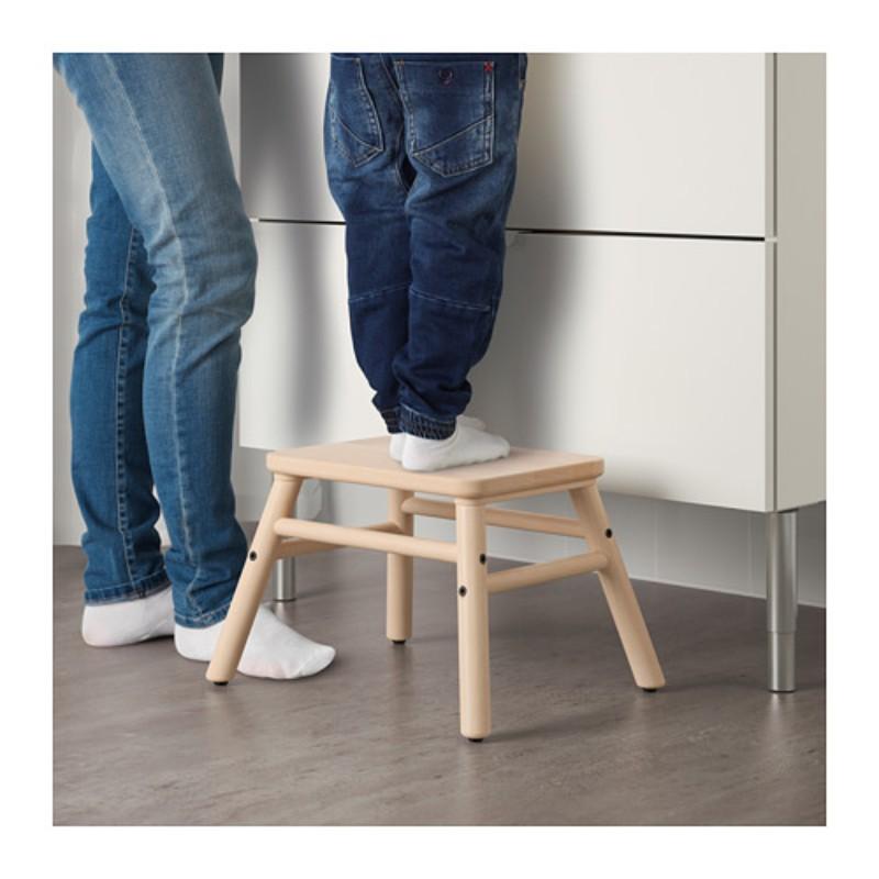 IKEA 우드 어린이 사다리 발받침대, 단일상품