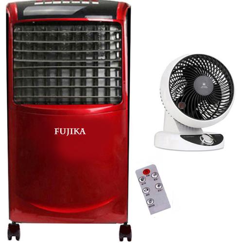 대용량 절전형16평 FUJIKA 터보스톰 전기온풍기히터 가정용 업소용 사무실, FUJIKA터보스톰16평형레드