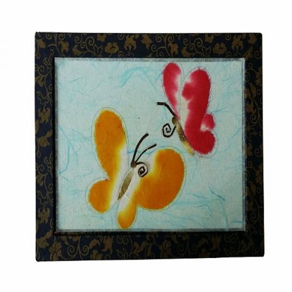 카윙 한지그림 나비 만들기재료 한지만들기 5개묶음 학습만들기재료