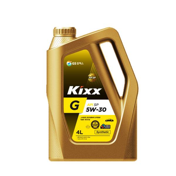 KIXX G 5W30 SP 4L 가솔린 엔진오일, 1개, ● KIXX G 5W30_4L ●