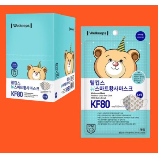 웰킵스 초소형 kf80 박스(25매입), 1박스(25매입)