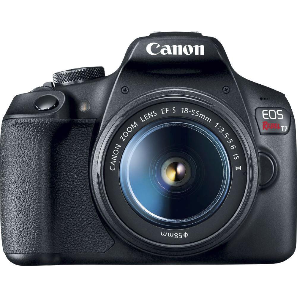 캐논 EOS Rebel T7 DSLR 카메라 EF-S 18-55mm 1 3.5-5.6 IS II 렌즈 포함, 2727C002