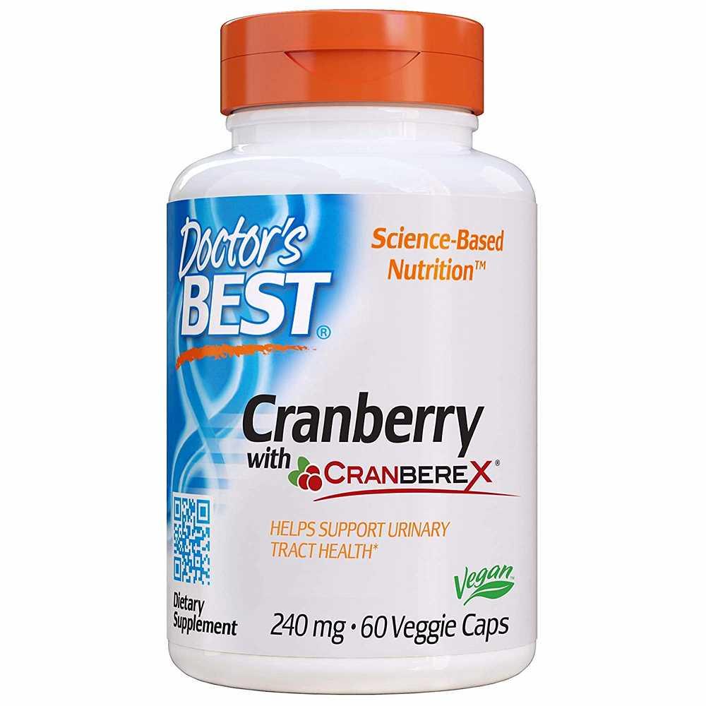 닥터베스트 크랜베리 with 크랜베렉스 240mg 60캡슐 - Doctors Best Cranberry with Cranberex, 상품명확인