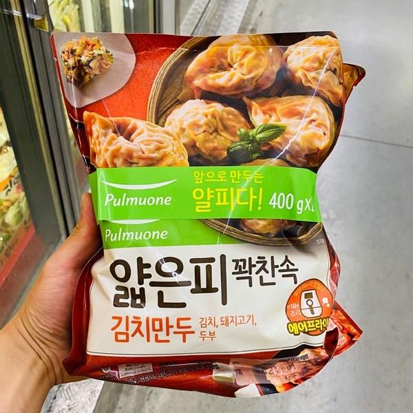풀무원 얇은피꽉찬 김치만두 기획 800g, 아이스팩 포장, 단일상품