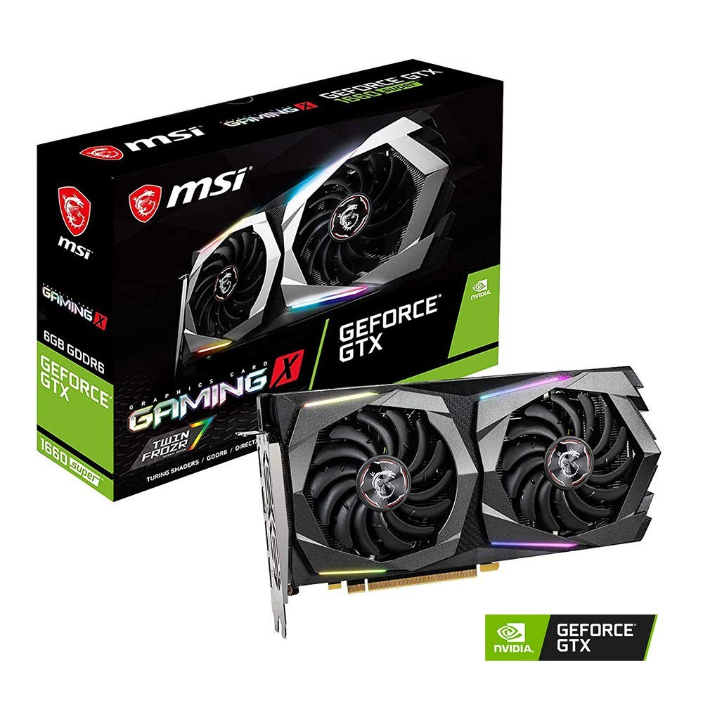 MSI GTX 1660 SUPER GAMING X GeForce 6GB GDDR6 PCI Express 3.0 그래픽카드