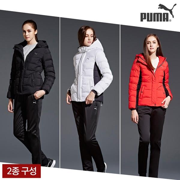 푸마 PUMA 이월 푸마 여성 패딩트랙수트 택1 NFYYFH15-17