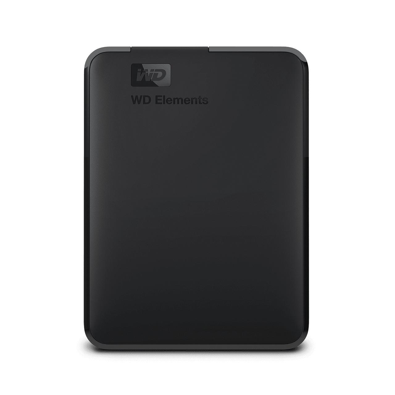 WD 엘리먼트 포터블 모바일 드라이브 USB 3.0 외장하드 2.5인치, Black, 5TB