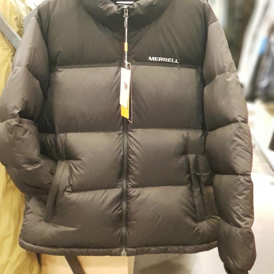 [머렐] 남녀 공용 동절기 대비 구스다운 중량다운 자켓 이월 상품 인기템 5219JD404 블랙 NC순천점