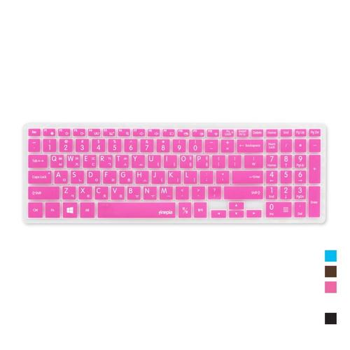[바보사랑]삼성 노트북5 Metal NT560XAZ-GD5A용 문자인쇄키스킨SS20, 화이트