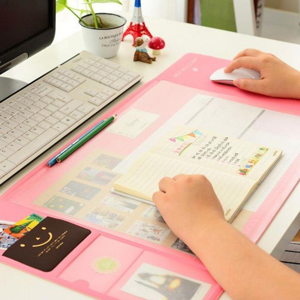 YJ+ 데스크패드 책상깔판 +WT+ 키밍 데스크 장패드 마우스 테이블 키보드 게이밍 커팅매트 책상깔판 데스크패드