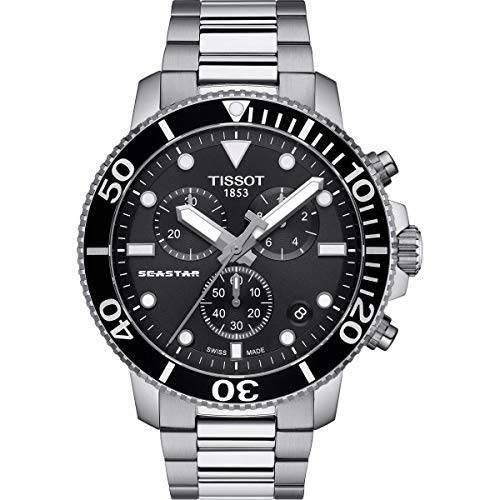 Tissot T120.417.11.051.00 Seastar 1000 크로노 그래프 남성용 시계 Tissot