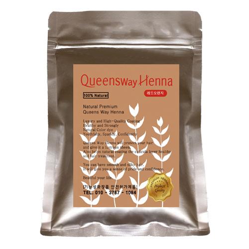 퀸즈웨이헤나 2개구매시1개 더 증정 퀸즈헤나 천연염색헤나 정품, 1개, (퀸즈웨이) 1. [천연] - 레드