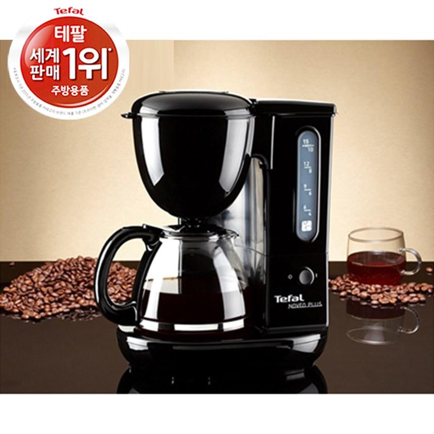 테팔 원두 커피 메이커 커피머신 홈카페 커피 용품 원두커피기계 집들이선물 세계1위판매 테팔정품, 단일상품
