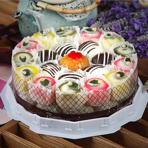 빚고을 [생일선물] 사랑스런그대에게 꽃떡케익2호, 1개
