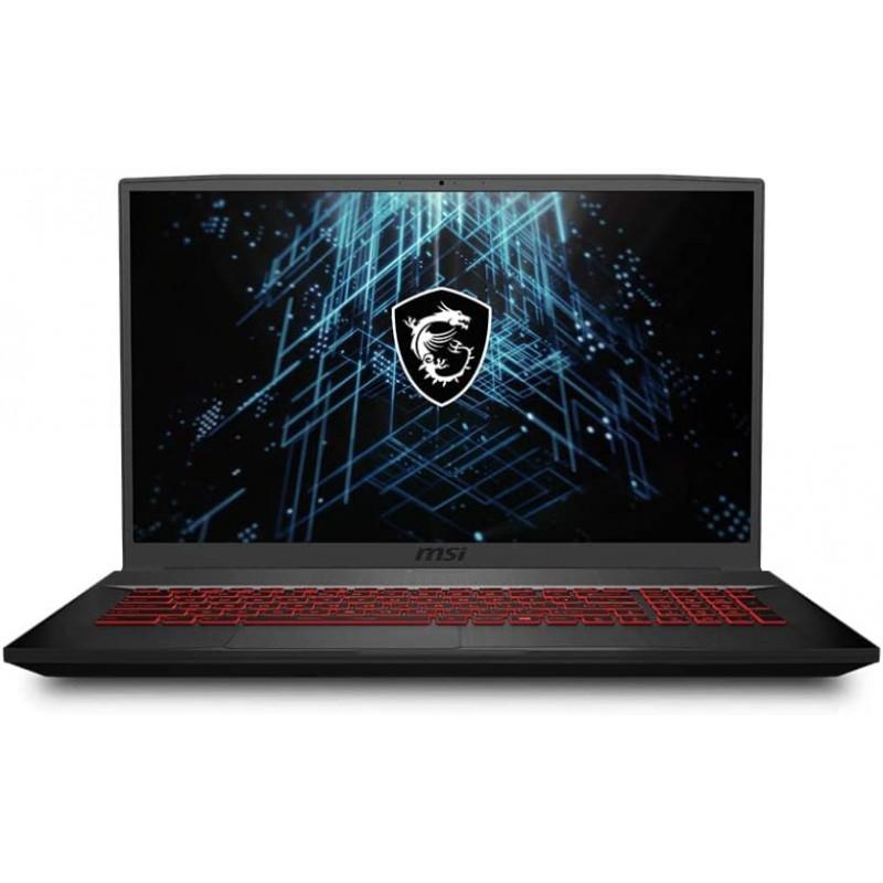 MSI GF75 Thin Laptop Core Black (Intel i7-10750H 6-Core 16GB RAM 1TB SATA SSD 17.3