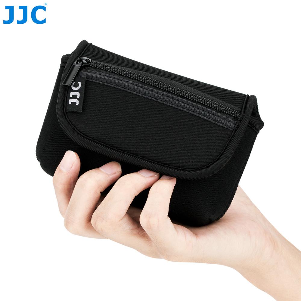 [JJC] 리코 GR3 소니ZV1 캐논G7XMark3 컴팩트카메라 파우치, 블랙
