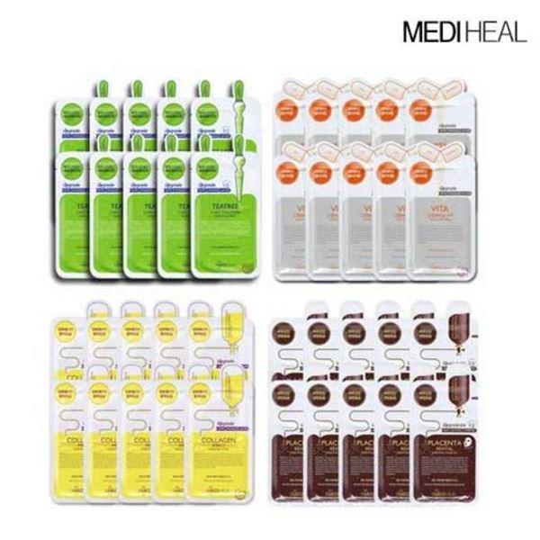 메디힐 비타 콜라겐 태반 티트리 40매 10매씩X4종, 단일상품/단일상품