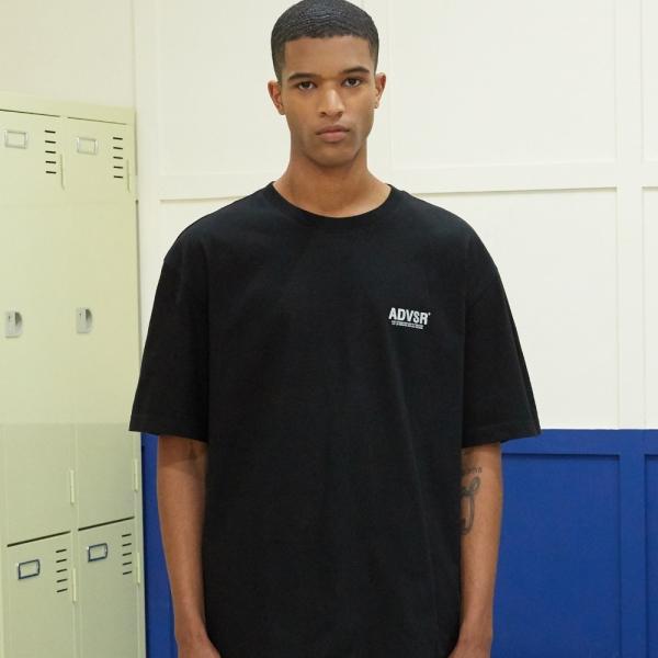 어드바이저리 Reflective Logo Graphic T-Shirt - BLACK